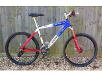 Coyote Hardtail - Marzocchi, Hope, Mavic - Great project or for spares - £100 ono