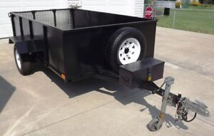 "All Metal 5' X 9' Utility Trailer with 23"" Walls."