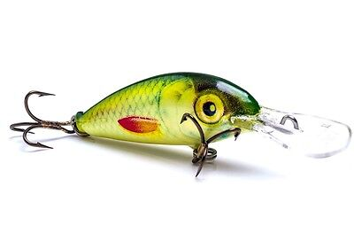 UGLY DUCKLING minnow fishing lure, floating, balsa wood, best lure for trout