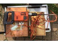 Spit 332 Hammer DrillI,240v,In Good Working Order. £22.00