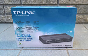 TP-LINK - 5 Port Gigabit Switch