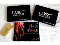 3 LaRoc Eyeshadow Palette Makeup Kit Set NEUtRALS BRIGHtS GLIttERS