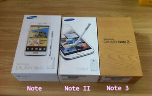 GALAXY S3,S4,S5 NOTE2,3 AND MEGGA ONLY BOXES with ALL Accessories