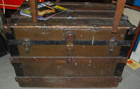 Antique trunk - makes a great coffee table - very clean inside