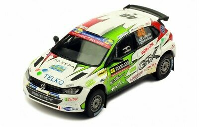 IXO MODELS RAM707 Volkswagen Polo GTI R5 #48 Rally Sweden 2019 Lindholm 1/43