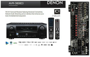 Denon AVR-3808CI Home theatre receiver with HDMI switching and v