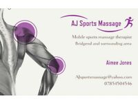AJ sports massage