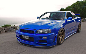 WOW 2001 Nissan Skyline GT-R Coupe Japanese Import WOW