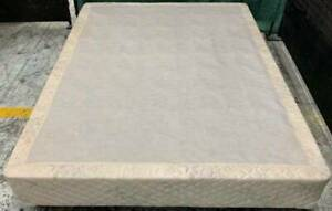 Good condition Sealy Brand queen bed base only. Pick up or deliver