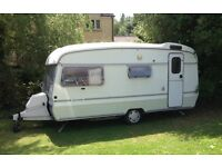 2 berth touring caravan, ideal first van, accommodation or shed, or tea hut.