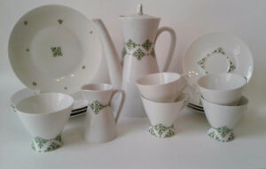 Bjorn Wiinblad Rosenthal Studio Linie Tea Service Set for 4-MCM