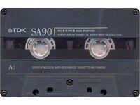 TDK Cassette tapes SA90