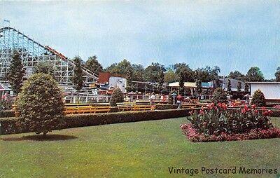CINCINNATI OH 1960 A Spot on the Mall @ Coney Island Amusement Park VINTAGE (Cincinnati Mall Cincinnati Oh)