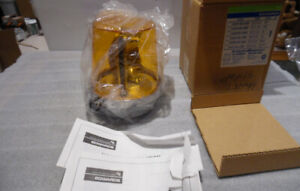 Edwards Flashing Light 52CA-N5-40W Amber AdaptaBeacon 120V NewB