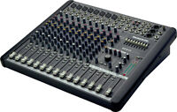 Mackie cfx12.mkii mixing board w pro case