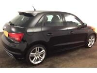 Audi A1 1.4 TFSI ( 122ps ) Sportback 2013MY S Line FROM £51 PER WEEK!
