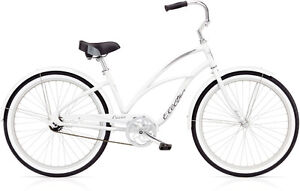 WHITE LADIES ELECTRA CRUISER LUX 7D
