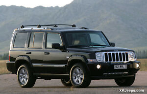 WANTED!! JEEP COMMANDER FOR PARTS!