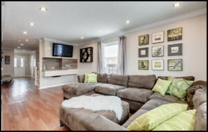 Stunning Freehold Townhouse Is An End Unit Connected At The Gara
