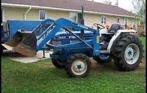 1989 ford 1920 Diesel tractor