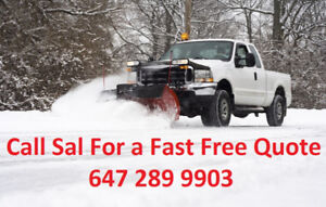 Affordable E Scarborough Pickering Ajax Snow plow removal