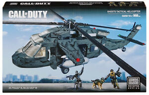 Mega Bloks Call of Duty Ghosts Tactical Helicopter NEW SEALED
