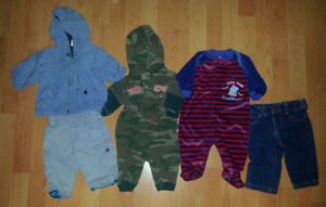 0-3 Mths Baby Boy Clothes (Take 27 Pieces for $30)