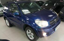 2004 TOYOTA RAV4 XT3 VVT-I Blue Manual Petrol
