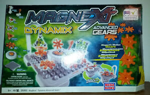 mega bloks magnext dynamix advanced gears
