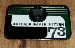 Vintage Buffalo David Bitton 73 metal belt buckle