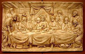 37-Huge-Last-Supper-Wall-Sculpture-Leonardo-DaVincis-Masterpiece