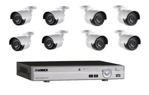 Lorex 3TB Security DVR w/ 8 HD Bullet Cameras (BRAND NEW) $599