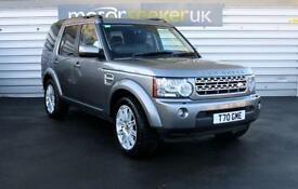 2012 Land Rover Discovery 4 DISCOVERY HSE LUXURY TDV6 AUTO 5 door Estate
