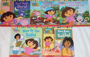 Qty 6 Sets of 5 Dora Books Including Lift the Flap Retailing $9+