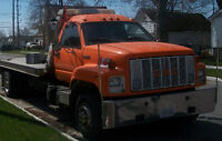 24 hr towing in london ontario and area flatbed tow truck