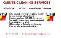 Brighton area cleaning service  #1 in rates/service