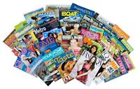 Any one wishing to give away or sell old magazines or newspapers