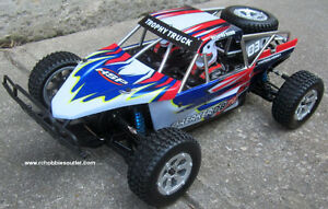 New RC Trophy Truck Brushless Electric,1/10 Scale LIPO 2,.4G RTR Kitchener / Waterloo Kitchener Area image 4