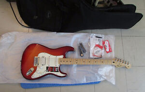 2015 Fender Stratocaster Deluxe Plus Top with ios