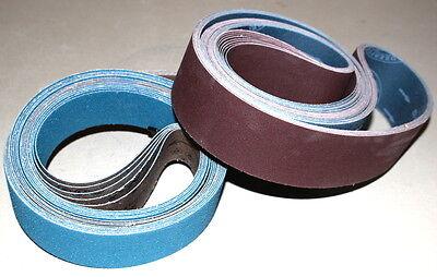 2 x 72 Sanding Belt Knifemaker Variety Pack  A/Z & A/O Flex (16pcs)  #2