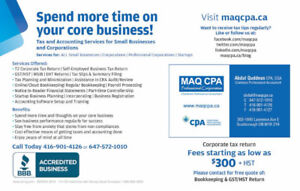 Corporate & Personal Taxes | Online and Regular Bookkeeping