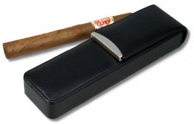 Lifestyle Zigarrenetui Nappa 2er Doppel-Corona, statt: 51,00 €
