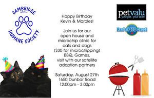 Open House, Microchip Clinic & BBQ Cambridge Kitchener Area image 2