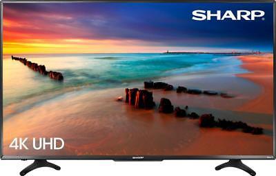 "Sharp - 50"" Class - LED - 2160p - Smart - 4K UHD TV with HDR Roku TV"