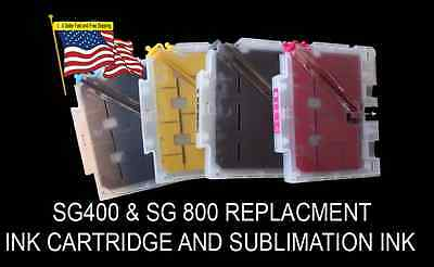 Sublimation Ink Cartridge Set For SG400 and SG 800