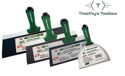 Usg Sheetrock Pro Drywall Taping Knife Set 6-8-10-12 Matrix Style