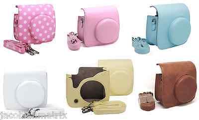 Gmatrix Fujifilm Instax Mini 8 Case Bag Vintage Leather Best Gift