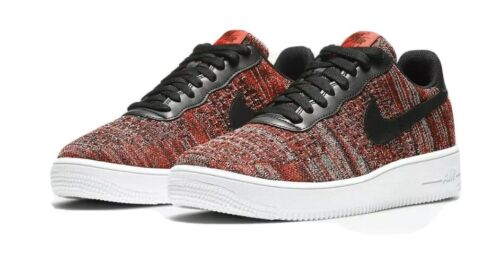 Nike Air Force 1 Flyknit 2.0 Men's Trainers Red Black CI0051