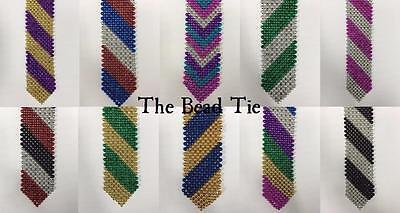 Bead Tie - Mardi Gras Party Event EDC Halloween Costume Festival Necktie