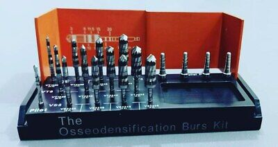 Dental Implant Osteotomy Preparation 17pcs Implantology Burs Kit